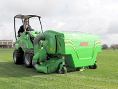 Avant® loader attachments - collecting lawn mower 1500