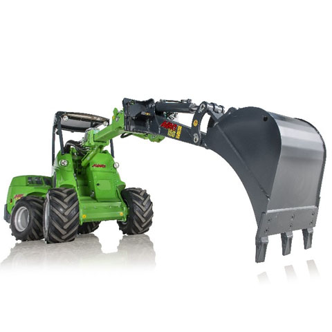 Avant loader mini digger UK sales