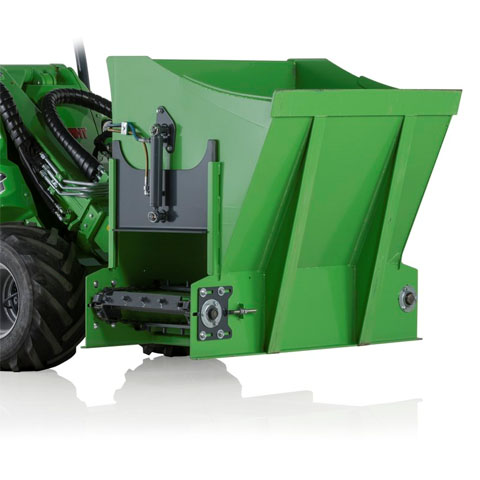 Avant® loader attachments - silage dispenser