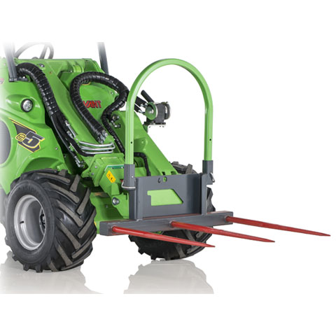Avant® loader attachments - square bale fork