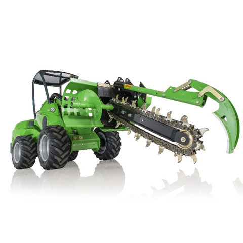 Avant® loader attachments - trencher