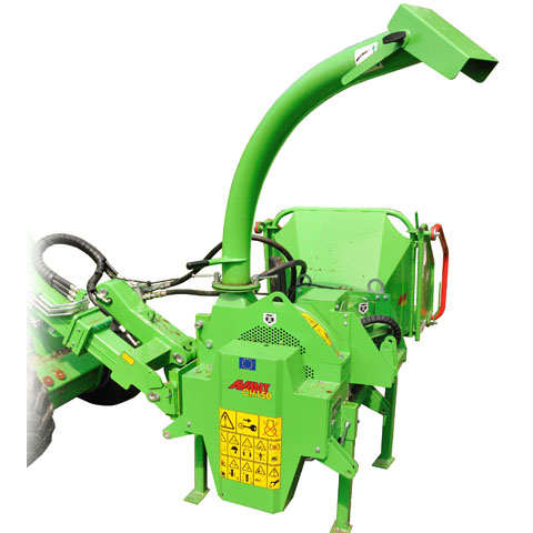 Avant® loader attachments - wood chipper CH150 heavy duty