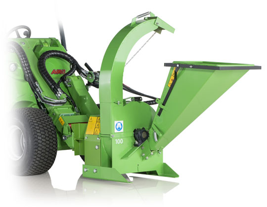 Avant® loader attachments - wood chipper