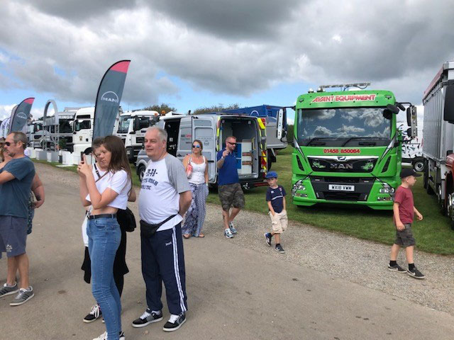 Avant® Equipment delivery lorry at Truckfest 2019