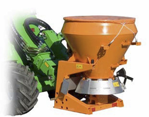 Avant salt spreader attachments, centrifugal sand spreading Avant attachment with UK delivery