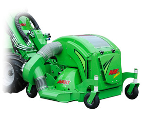 Avant collecting lawnmower attachments, Avant lawnmowers UK delivery
