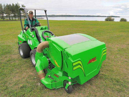 Avant® front loaders - collecting lawnmower 1500 UK Avant sales