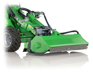 Avant flail mower attachments, Avant lawnmowers UK delivery