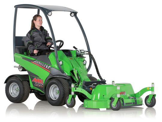 Avant® front loaders - Lawnmower 1200 UK Avant sales