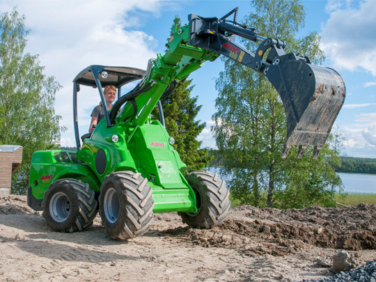 Avant® front loaders - mini digger UK Avant sales