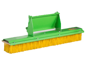 Avant broom attachments, Avant push broom attachment, Avant carousel broom with UK delivery