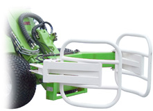 Avant skid steer attachments - bale grab