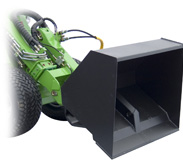 Avant 500 Series attachments - high tip bucket