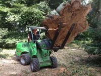 Avant tractors for tree surgeons